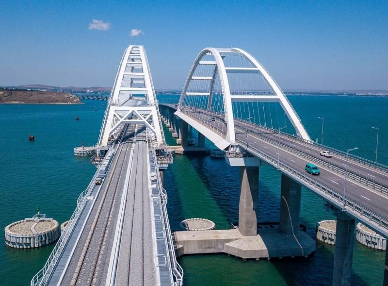 центре фото крымского моста с воздуха посадить